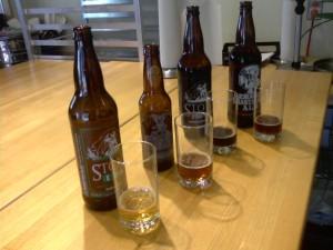 Stone beer taste-testing