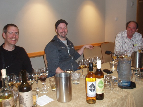 "The ""Vermouth-kateers"":  Carl Sutton, Neil Kopplin and Andrew Quady"