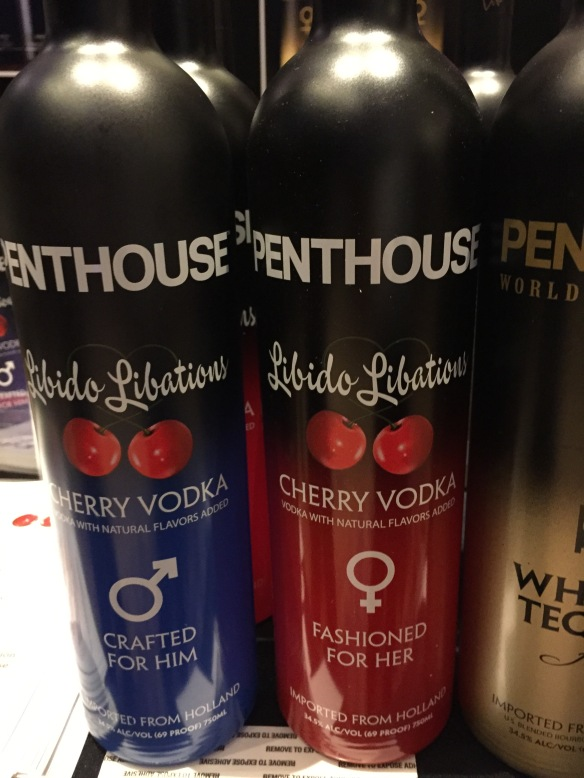 Penthouse flavored vodkas.